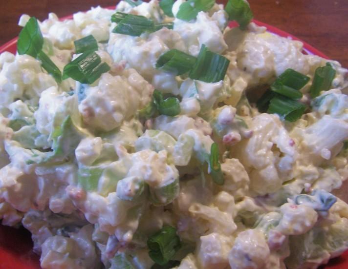 "Mock "" Potato/Cauliflower "" Salad"