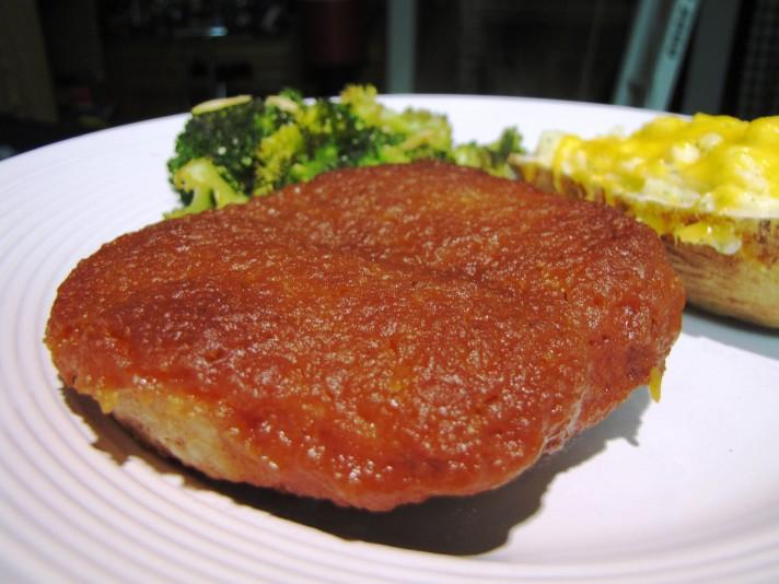Pork Chops & Apple Butter