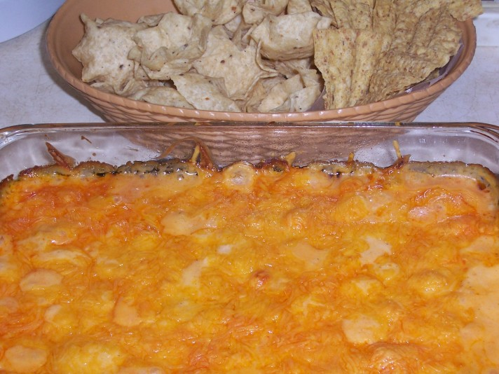 Buffalo Chicken Dip Made With Cream Cheese - the Best One!