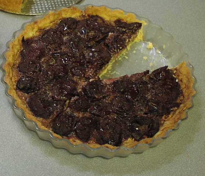 Plum and Almond Tart