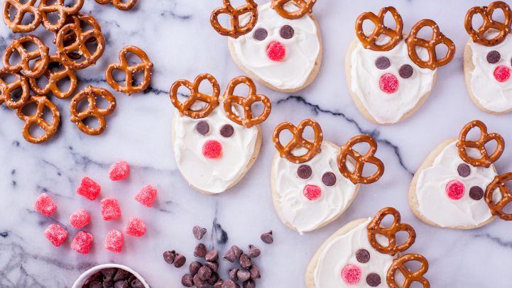 Frosted Reindeer Cookies Recipe