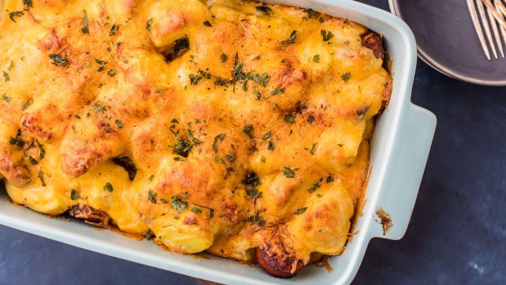 Cheese Potato Sausage Casserole