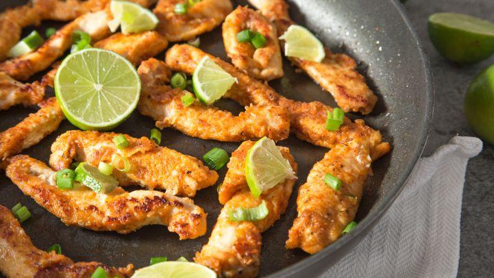 Quick and easy chicken dinners genius kitchen cajun chicken strips forumfinder Gallery