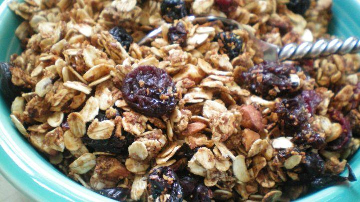Best granola recipes genius kitchen applesauce granola recipe forumfinder Gallery