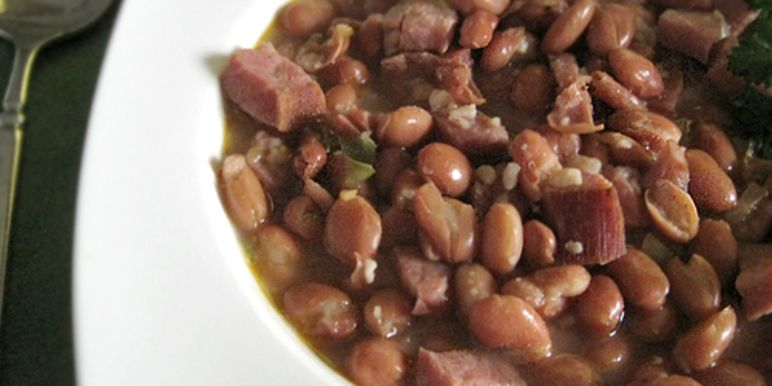 Image result for pinto beans with ham