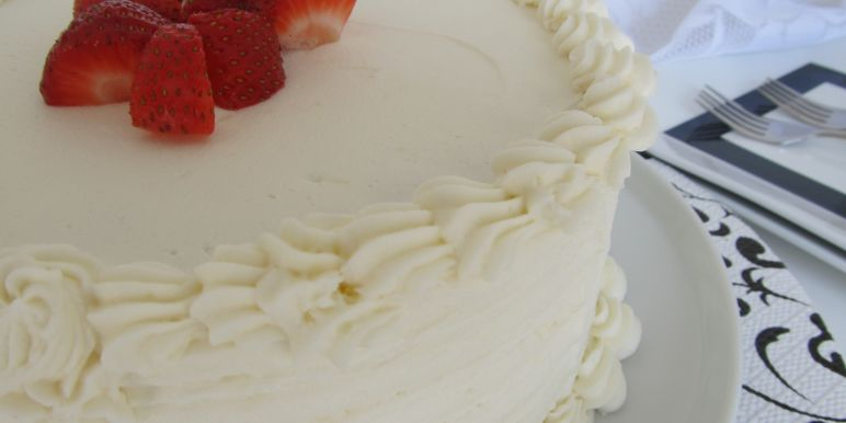 Elegant white cake recipe