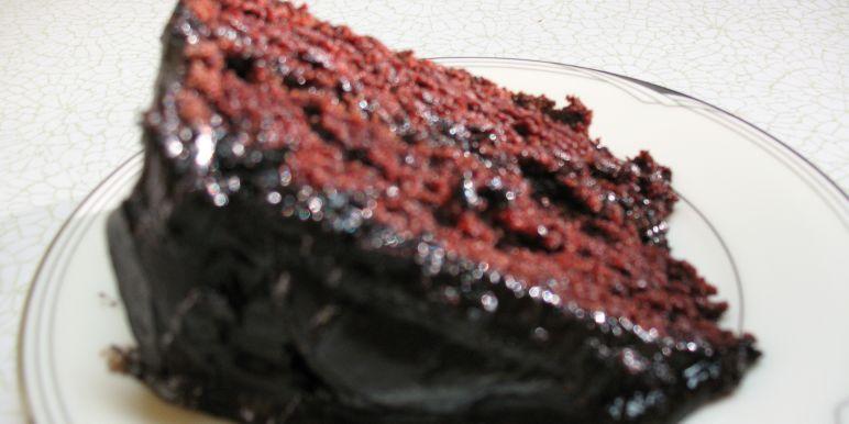 Chocolate cake with mayo recipe