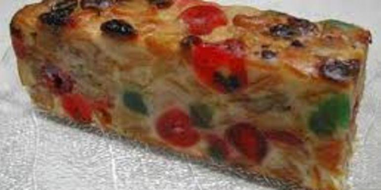 No Bake Fruit Cake Condensed Milk