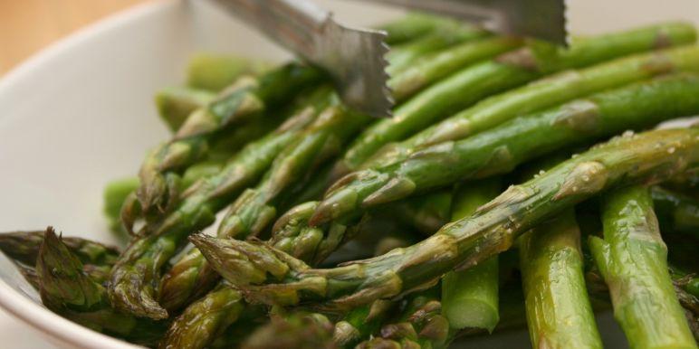 Roasted asparagus with lemon recipe genius kitchen roasted asparagus ccuart Choice Image