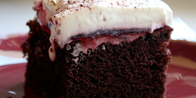 Simple black forest cake recipe
