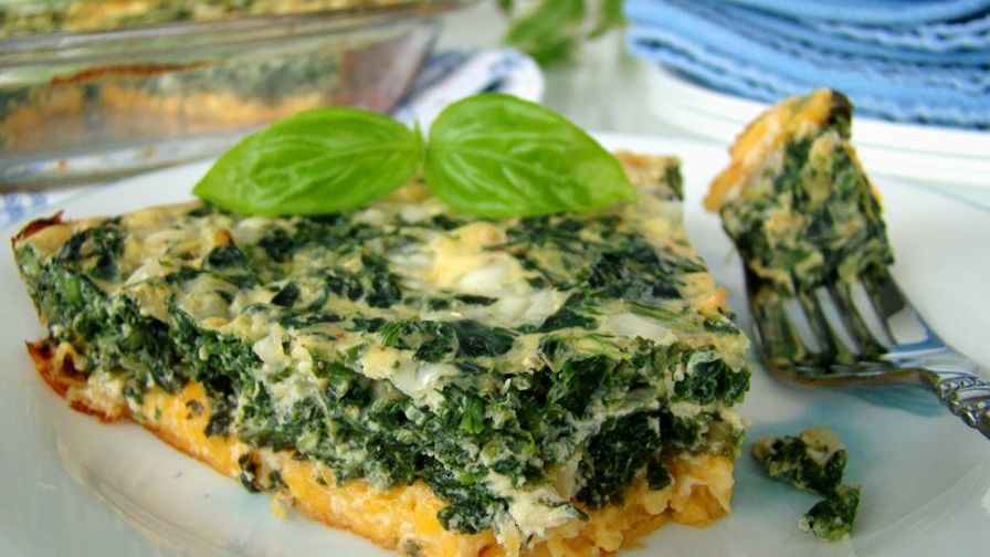 Crustless spinach cheese quiche food network dinosauriensfo forumfinder Image collections