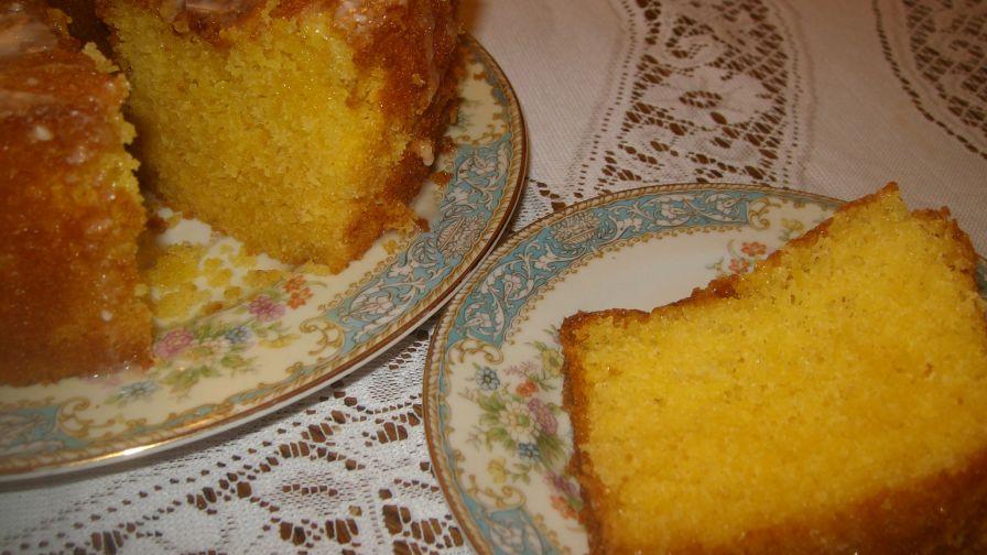 Apricot Nectar Pound Cake