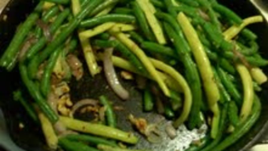 how to keep fresh green beans green