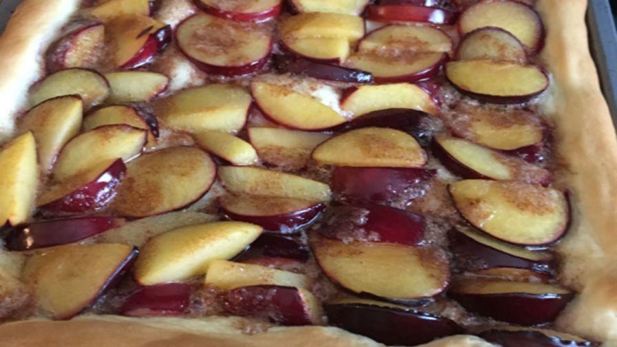 Recipe German Plum Cake Zwetschgenkuchen