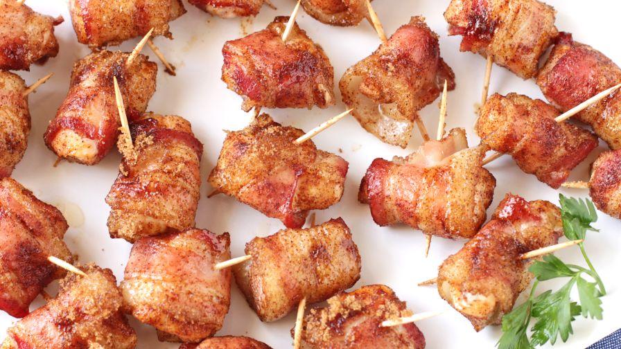 Bacon Wrapped Pretzels Paula Deen