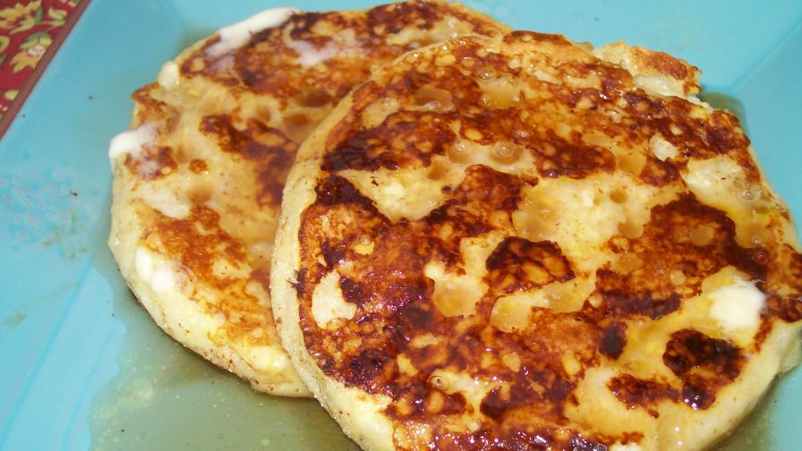 English muffin french toast recipe genius kitchen 8 view more photos save recipe forumfinder Choice Image