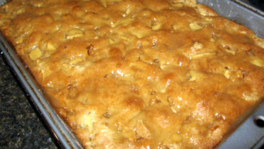 Angel Food Apple Dump Cake