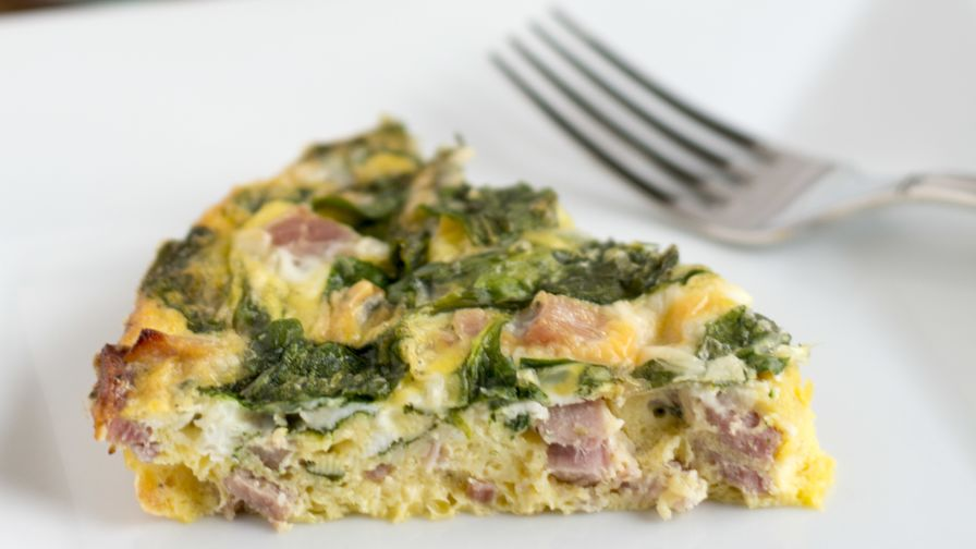 Crustless ham and cheese quiche recipe genius kitchen 6 view more photos forumfinder Choice Image