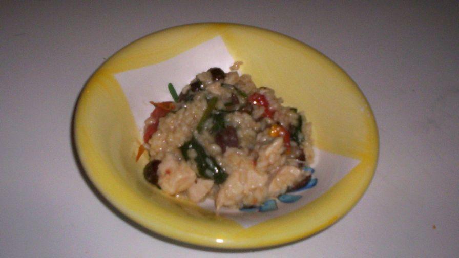 Mediterranean chicken risotto recipe italiannius kitchen 1 view more photos save recipe forumfinder Images
