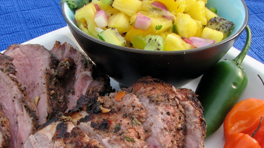 recipe: bourbon glazed pork tenderloin food network [38]