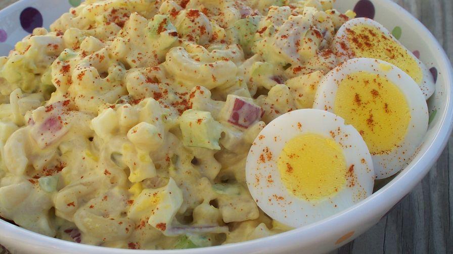 Grandma wells 39 tuna macaroni salad for How to make tuna fish with eggs