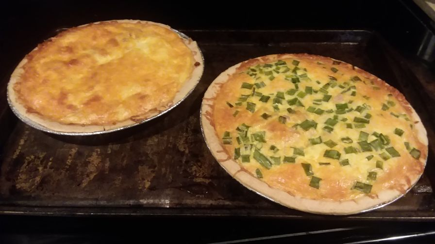 Ham and cheese quiche recipe genius kitchen forumfinder Choice Image