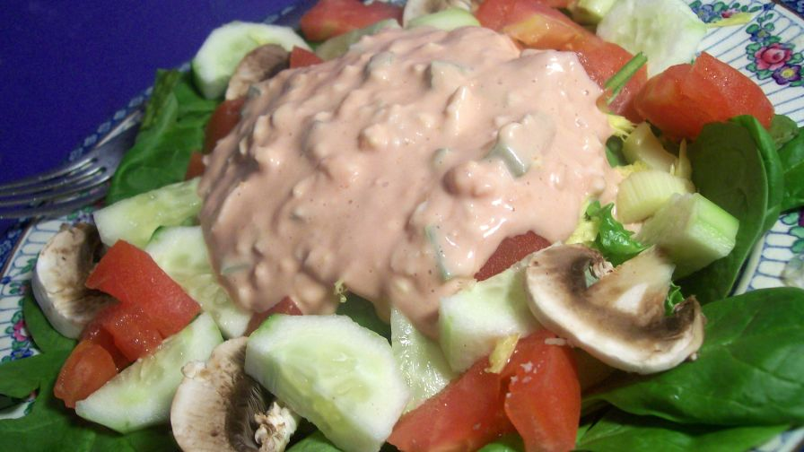 recipe: what salad goes with thousand island dressing [29]