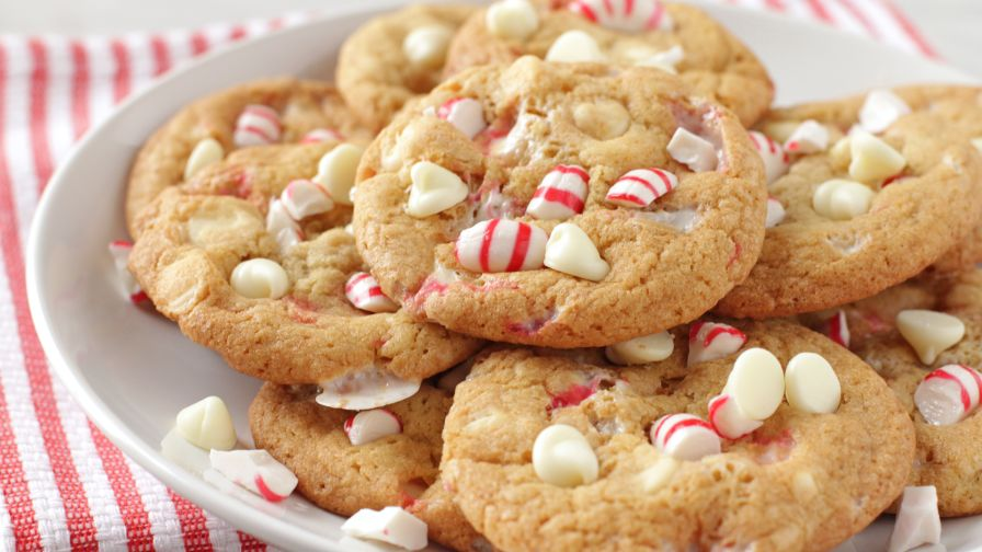 Image result for White Chocolate Peppermint Cookies