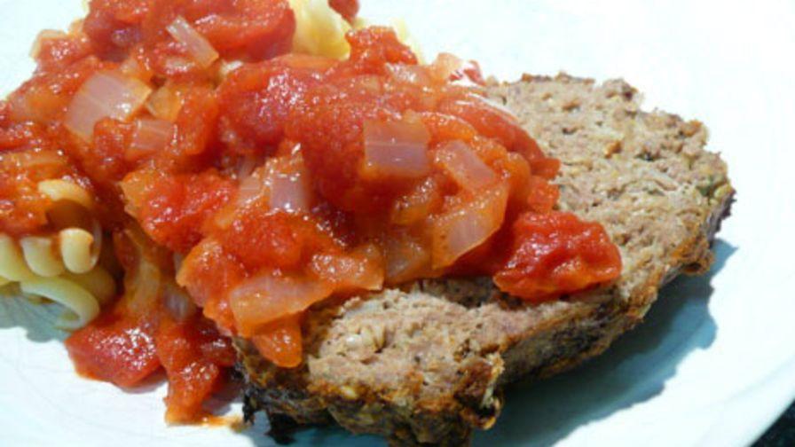 Hoosier meatloaf with jack daniels sauce recipe genius kitchen 4 view more photos save recipe forumfinder Gallery