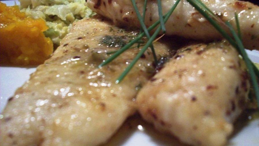 Tilapia Piccata Food Network
