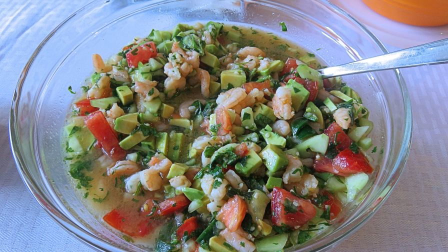 Mexican Food Shrimp And Crab Ceviche Recipe