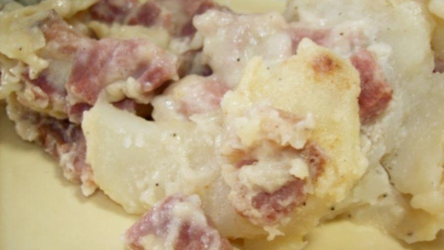 Scalloped potatoes and ham recipe genius kitchen forumfinder Images