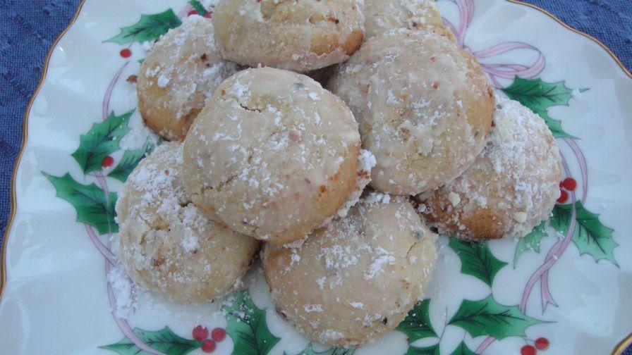Polvorones Mexican Wedding Cakes Recipe