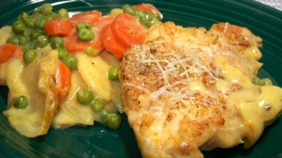 Au gratin chicken and potato bake recipe genius kitchen 1 view more photos save recipe forumfinder Images