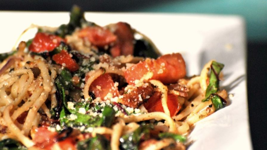 Creamy swiss chard pasta recipe genius kitchen forumfinder Image collections