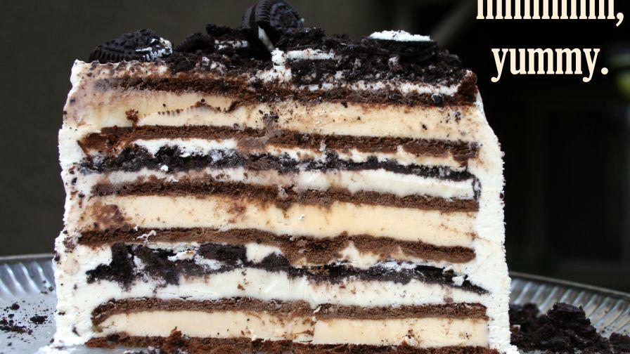 3 ingredient ice cream sandwich cake recipe genius kitchen 4 view more photos ccuart Image collections