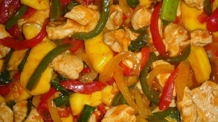 how to fix mango chicken curry
