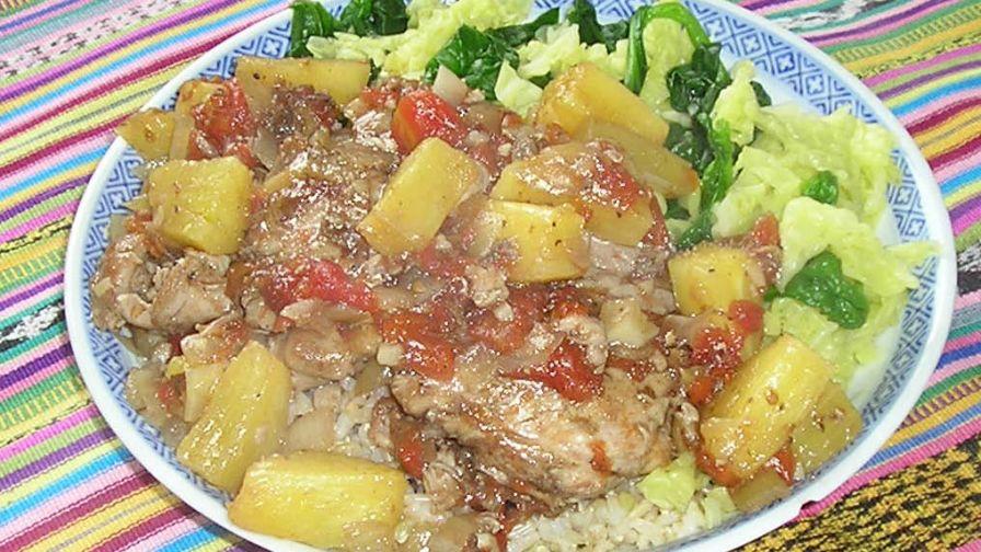 Guatemalan chicken with pineapple pollo en pina recipe genius 1 view more photos save recipe forumfinder Images