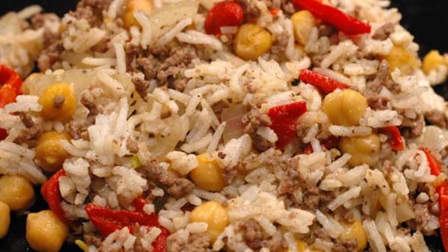 Palestinian rice recipes genius kitchen palestinian rice forumfinder Image collections