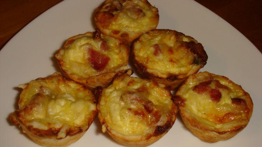 Miniature quiche lorraine recipe genius kitchen top review by forumfinder Image collections