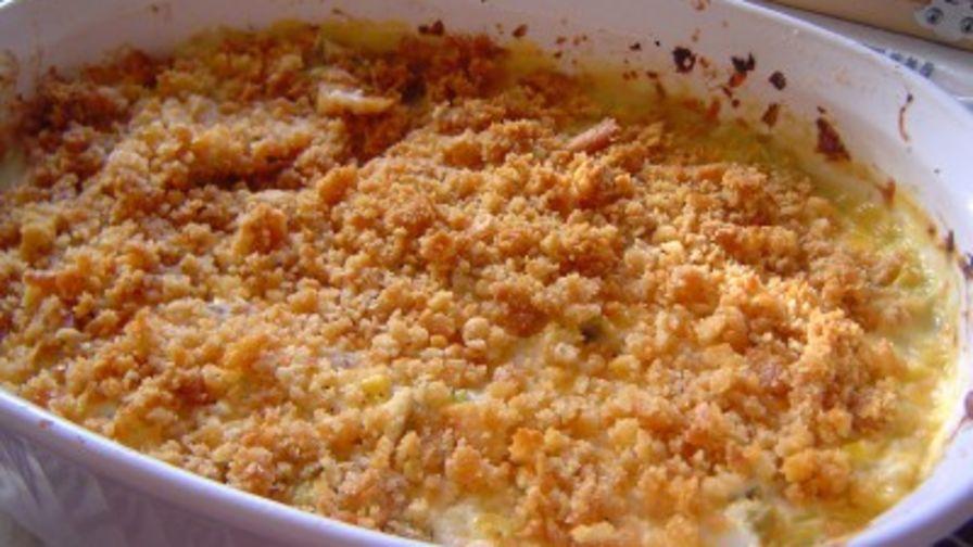 recipe: corn casserole with cream cheese and sour cream [29]