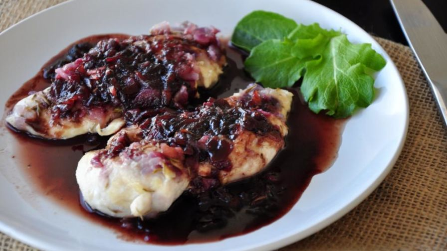 Image result for raspberry balsamic chicken