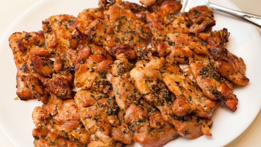 Jacques Pepin Fast Food My Way Chicken Thighs