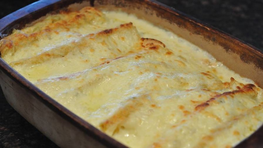 White chicken enchiladas recipe genius kitchen forumfinder Choice Image