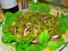 Tangy Green Bean and Olive Salad. Recipe by Caroline Cooks
