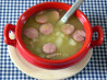 Green Split Pea & Potato Soup (Erbsensuppe). Recipe by -Sylvie-