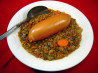 Lentil & Frankfurter Soup in Crock Pot. Recipe by Glittergirl