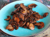 Mushrooms in Balsamic Sauce. Recipe by Chef Dudo