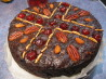 Decadently Rich Port and Chocolate Christmas Cake. Recipe by Kookaburra