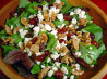 Just Like Dewey's Candied Walnut and Grape Salad. Recipe by Sue Lau